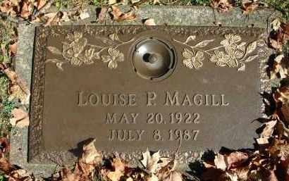 MAGILL, LOUISE P. - Fairfield County, Ohio | LOUISE P. MAGILL - Ohio Gravestone Photos