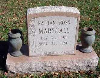 MARSHALL, NATHAN ROSS - Fairfield County, Ohio | NATHAN ROSS MARSHALL - Ohio Gravestone Photos