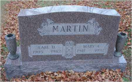 MARTIN, MARY A. - Fairfield County, Ohio | MARY A. MARTIN - Ohio Gravestone Photos