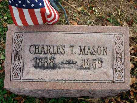 MASON, CHARLES T. - Fairfield County, Ohio | CHARLES T. MASON - Ohio Gravestone Photos