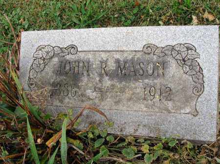 MASON, JOHN R. - Fairfield County, Ohio | JOHN R. MASON - Ohio Gravestone Photos