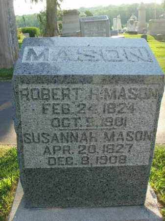 MASON, SUSANNAH - Fairfield County, Ohio | SUSANNAH MASON - Ohio Gravestone Photos