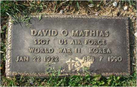 MATHIAS, DAVID O. - Fairfield County, Ohio | DAVID O. MATHIAS - Ohio Gravestone Photos