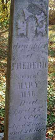 MAU, MARY - Fairfield County, Ohio | MARY MAU - Ohio Gravestone Photos