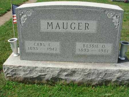 MAUGER, CARL L. - Fairfield County, Ohio | CARL L. MAUGER - Ohio Gravestone Photos
