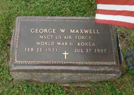 MAXWELL, GEORGE W - Fairfield County, Ohio | GEORGE W MAXWELL - Ohio Gravestone Photos