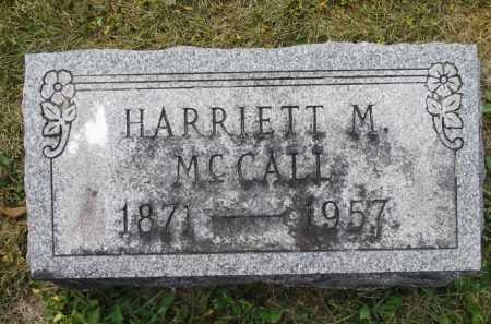 MCCALL, HARRIETT M (MAE) - Fairfield County, Ohio | HARRIETT M (MAE) MCCALL - Ohio Gravestone Photos