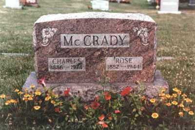 MCCRADY, CHARLES CLAYTON - Fairfield County, Ohio | CHARLES CLAYTON MCCRADY - Ohio Gravestone Photos