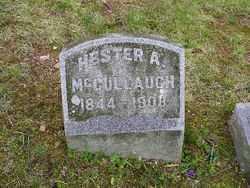 MITCHELL MCCULLAUGH, HESTER A. - Fairfield County, Ohio | HESTER A. MITCHELL MCCULLAUGH - Ohio Gravestone Photos