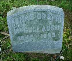 MCCULLAUGH, ZENAS ORATIO - Fairfield County, Ohio | ZENAS ORATIO MCCULLAUGH - Ohio Gravestone Photos