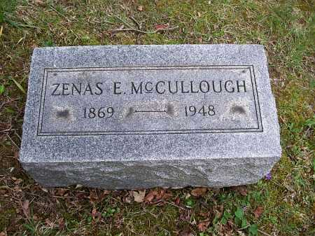 MCCULLOUGH, ZENAS E. - Fairfield County, Ohio | ZENAS E. MCCULLOUGH - Ohio Gravestone Photos