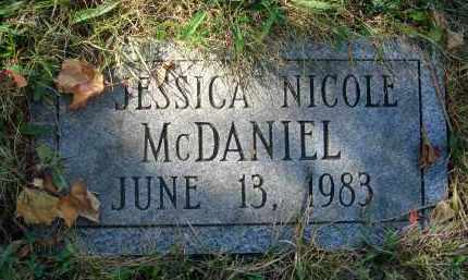 MCDANIEL, JESSICA NICOLE - Fairfield County, Ohio | JESSICA NICOLE MCDANIEL - Ohio Gravestone Photos