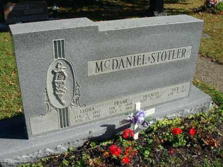 MCDANIEL, LEONA - Fairfield County, Ohio | LEONA MCDANIEL - Ohio Gravestone Photos