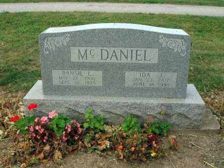 MCDANIEL, RANSIL L. - Fairfield County, Ohio | RANSIL L. MCDANIEL - Ohio Gravestone Photos