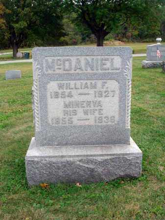 MCDANIEL, WILLIAM F. - Fairfield County, Ohio | WILLIAM F. MCDANIEL - Ohio Gravestone Photos