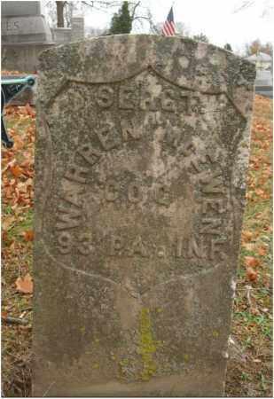 MCEWEN, WARREN - Fairfield County, Ohio | WARREN MCEWEN - Ohio Gravestone Photos