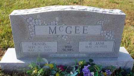 MCGEE, DENNIS - Fairfield County, Ohio | DENNIS MCGEE - Ohio Gravestone Photos