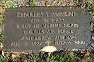 MCMUNN, CHARLES L. - Fairfield County, Ohio | CHARLES L. MCMUNN - Ohio Gravestone Photos
