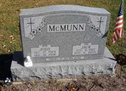 MCMUNN, JODY - Fairfield County, Ohio | JODY MCMUNN - Ohio Gravestone Photos