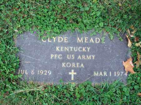MEAD, CLYDE - Fairfield County, Ohio | CLYDE MEAD - Ohio Gravestone Photos