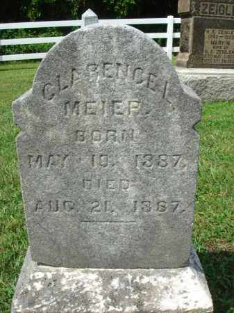 MEIER, CLARENCE L. - Fairfield County, Ohio | CLARENCE L. MEIER - Ohio Gravestone Photos