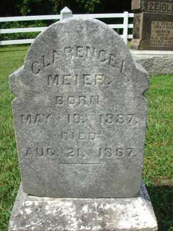 MEIER, CLARENCE L. - Fairfield County, Ohio | CLARENCE L. MEIER - Ohio Gravestone Photos