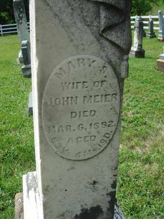 MEIER, MARY S. - Fairfield County, Ohio | MARY S. MEIER - Ohio Gravestone Photos
