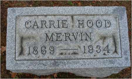 MERVIN, CARRIE - Fairfield County, Ohio | CARRIE MERVIN - Ohio Gravestone Photos