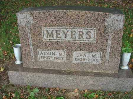 MEYERS, ALVIN M. - Fairfield County, Ohio | ALVIN M. MEYERS - Ohio Gravestone Photos