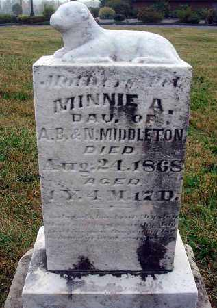 MIDDLETON, MINNIE A. - Fairfield County, Ohio | MINNIE A. MIDDLETON - Ohio Gravestone Photos