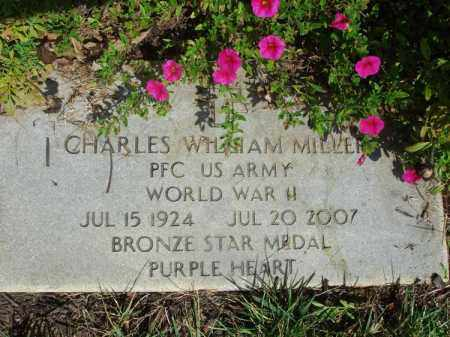 MILLER, CHARLES WILLIAM - Fairfield County, Ohio | CHARLES WILLIAM MILLER - Ohio Gravestone Photos