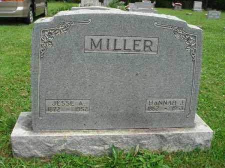MILLER, HANNAH J. - Fairfield County, Ohio | HANNAH J. MILLER - Ohio Gravestone Photos