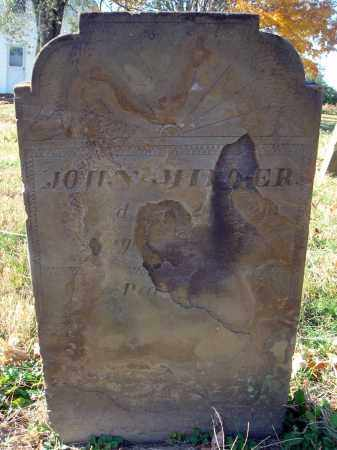 MILLER, JOHN - Fairfield County, Ohio | JOHN MILLER - Ohio Gravestone Photos