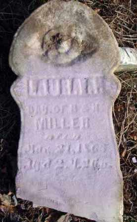 MILLER, LAURA A. - Fairfield County, Ohio | LAURA A. MILLER - Ohio Gravestone Photos