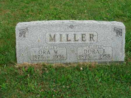 MILLER, ORA W. - Fairfield County, Ohio | ORA W. MILLER - Ohio Gravestone Photos