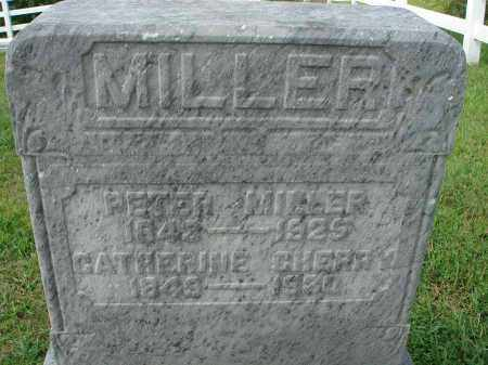 MILLER, PETER - Fairfield County, Ohio | PETER MILLER - Ohio Gravestone Photos