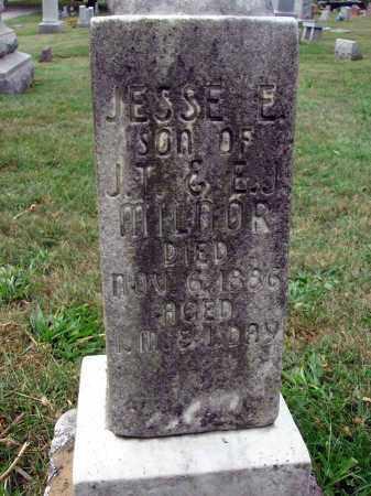 MILNOR, JESSE E. - Fairfield County, Ohio | JESSE E. MILNOR - Ohio Gravestone Photos