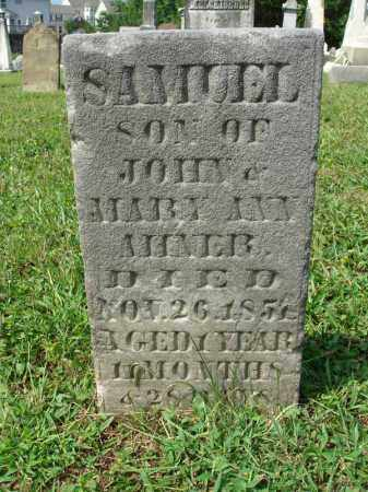 MINER, SAMUEL - Fairfield County, Ohio | SAMUEL MINER - Ohio Gravestone Photos