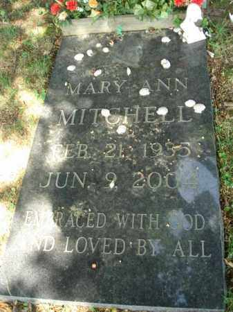 MITCHELL, MARY ANN - Fairfield County, Ohio | MARY ANN MITCHELL - Ohio Gravestone Photos