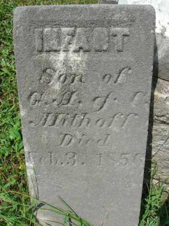 MITHOFF, INFANT SON - Fairfield County, Ohio | INFANT SON MITHOFF - Ohio Gravestone Photos