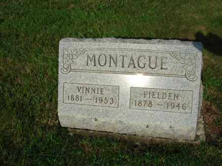MONTAGUE, VINNIE - Fairfield County, Ohio | VINNIE MONTAGUE - Ohio Gravestone Photos