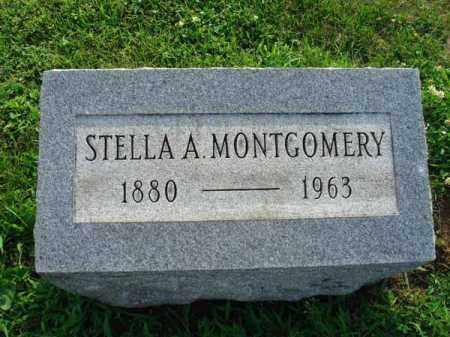 MONTGOMERY, STELLA A. - Fairfield County, Ohio | STELLA A. MONTGOMERY - Ohio Gravestone Photos