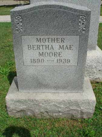 MOORE, BERTHA MAE - Fairfield County, Ohio | BERTHA MAE MOORE - Ohio Gravestone Photos
