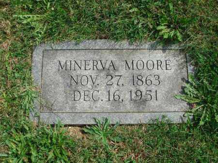 MOORE, MINERVA - Fairfield County, Ohio | MINERVA MOORE - Ohio Gravestone Photos