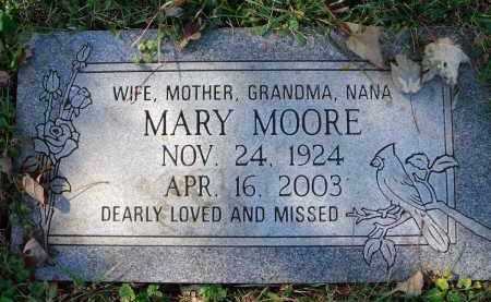 MOORE, MARY - Fairfield County, Ohio | MARY MOORE - Ohio Gravestone Photos
