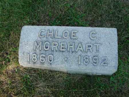 MOREHART, CHLOE C. - Fairfield County, Ohio   CHLOE C. MOREHART - Ohio Gravestone Photos