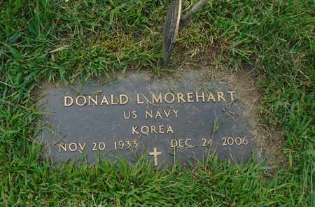 MOREHART, DONALD L - Fairfield County, Ohio | DONALD L MOREHART - Ohio Gravestone Photos