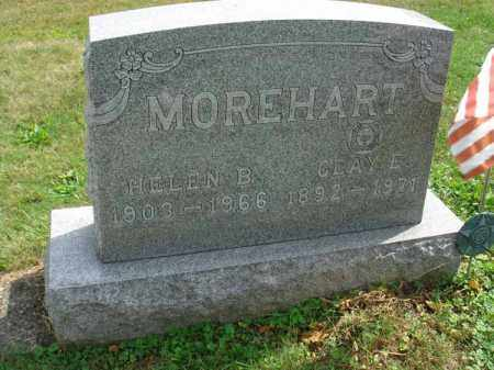 MOREHART, HELEN B. - Fairfield County, Ohio | HELEN B. MOREHART - Ohio Gravestone Photos