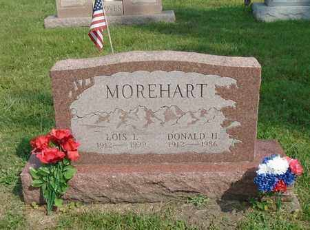 MOREHART, LOIS I. - Fairfield County, Ohio | LOIS I. MOREHART - Ohio Gravestone Photos