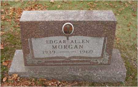 MORGAN, EDGAR ALLEN - Fairfield County, Ohio | EDGAR ALLEN MORGAN - Ohio Gravestone Photos